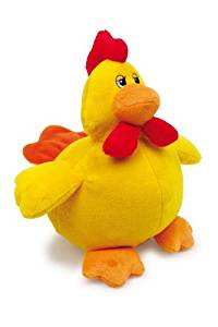 Huhn Plüschtier Logo
