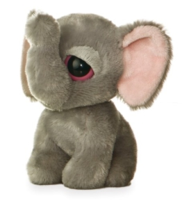 Aurora World 00721A - Yoohoo and Friends Plüschtier Elefant -