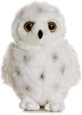Flopsies Plüschtier weiße Schnee - Eule, Kuscheltier ca. 25 cm -