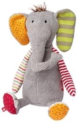 Sigikid 38372 - Elefant - Sweety, Kuscheltier -