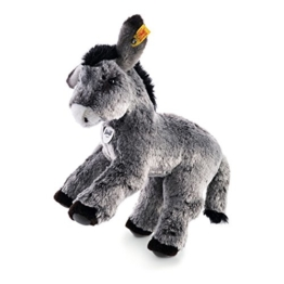 Steiff 072819 - Fritzi Esel 28 stehend, grau meliert -