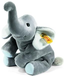 Steiff 281259 - Trampili Elefant liegend, 16 cm, grau -