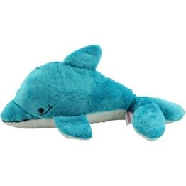 Sweety Toys 7837 Delfin 35 cm türkis Plüschtier Stofftier kuschelweich super süss -