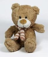 Teddy Bär Kuscheltier Plüschtier Stofftier Kuschelbär kleiner Bär   Größe : 21cm und sehr weich -