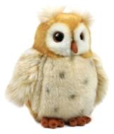 WWF Plüsch Kollektion WWF12698 - Plüschfigur Eule 15 cm, Plüschtiere -