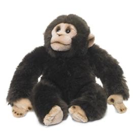 WWF Plüsch Kollektion WWF16091 - Plüschfigur Schimpanse 23 cm, Plüschtiere -