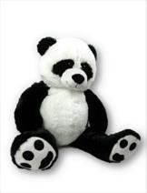 """XXL Panda Bär """" Bernd """" 1m Teddybär Kuschelbär 100 cm Kuscheltier Stofftier Pandabär Teddy -"""