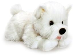 Angus Westie West Highland White Terrier Hund Stofftier / Plüschtier 35cm - 1