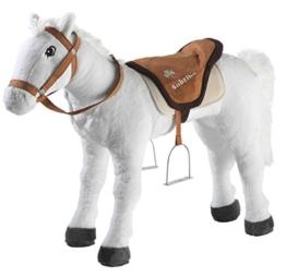 Bibi & Tina 736177 - Pferd stehend, Sabrina, groß, creme - 1
