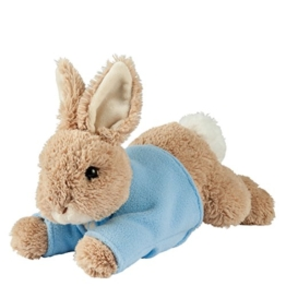 Enesco A27222 - Gund lying Peter Rabbit, Plüschtier, medium - 1