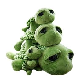 """Haodou Plüsch Schildkröte Puppe Große Augen Die Schildkröte Plüsch Tiere Spielzeug Cute Puppe Plüschtiere für Kinder - Grün(7.87""""/20 cm) - 1"""