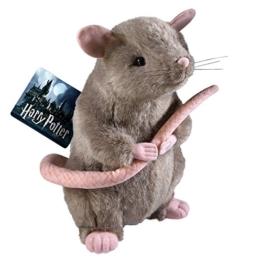 Harry Potter Plüsch Figur Ratte Krätze 28cm braun - 1