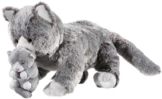 Heunec 284173 - Softissimo Classics Katze mit Baby - 1