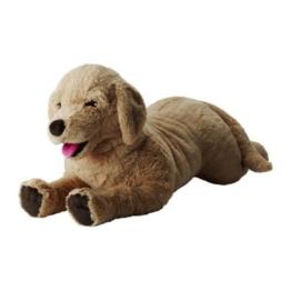 """IKEA Stofftier """"Gosig Golden"""" Plüschtier Hund - 70cm groß - sehr kuschelig - SICHERHEITSGETESTET - maschinenwaschbar - empfohlen ab 12 Monaten - 1"""