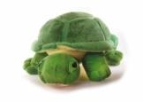 Inware 6964 - Kuscheltier Schildkröte Chilly, 27 cm, grün, Kuschelschildkröte, Schmusetier - 1
