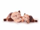 Inware 7775 - Kuscheltier Katze Mia, 32 cm - 1