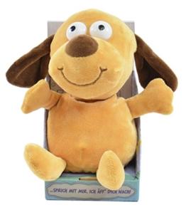 Kögler 75570 - Laber-Hund, der alles nachplappert-Plüsch - 1