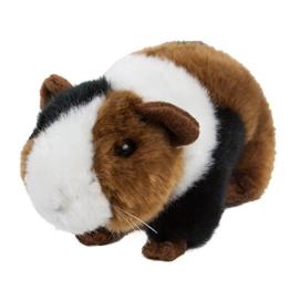 Kuscheltier Meerschweinchen 19 cm braun/weiß/schwarz Plüschmeerschweinchen - 1