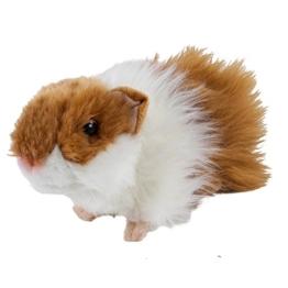 Kuscheltier Meerschweinchen 20 cm braun/weiß Plüschmeerschweinchen - 1