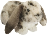 Living Nature British Wildlife Dutch Lop Ear Rabbit Soft Toy - Grey by Living Nature - 1
