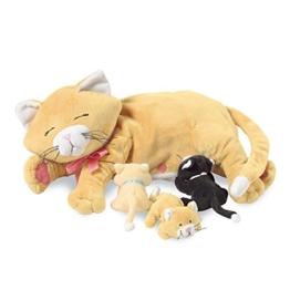 Manhattan Toy 107790 - Nursing Pets - Mama-Katze Nina Plüschtier - 1