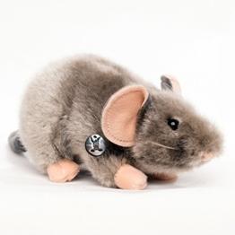 Maus MAUSI Ratte grau 25 cm Plüschmaus von kuscheltiere.biz - 1