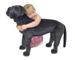 Melissa & Doug - 12117 - Schwarzer Labrador - 1