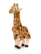 Mimex WWF63307 - WWF Giraffe stehend Plüschtier, 38 cm - 1