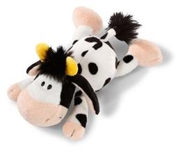 Nici 36832 - Kuh - liegend Plüschtier, 20 cm - 1