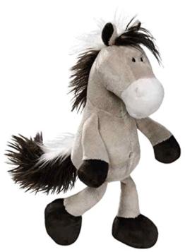 Nici 36896 - Pferd Schlenker, Plüschtier, 35 cm, graubeige - 1