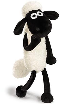 Nici 39655 - Shaun das Schaf Schlenker, 25 cm, weiß - 1