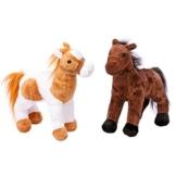 """Pferde """"Penny und Molly"""", Kuscheltiere im 2er Set, kuschelweiche und niedliche Begleiter aus Plüsch, mit den niedlichen Stoffpferdchen sind spannende Abenteuer und schöne Schmusestunden garantiert - 1"""