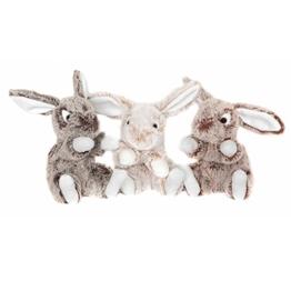 Plüsch Hase 15 cm - weiches Plüschtier Kuscheltier Stofftier Bunny assortiert - 1