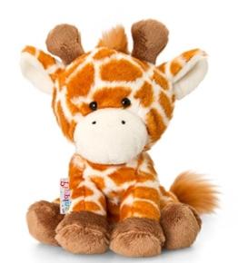 Plüschtier Giraffe George, braunes Kuscheltier Pippins ca. 14 cm - 1