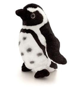 Plüschtier Pinguin schwarz - weiß , Keel Toys Kuscheltier Humboldt Plüschpinguin ca. 20 cm - 1