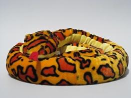 Plüschtier Schlange - gelb - 250 cm - 1