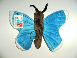 Plüschtier Schmetterling 24cm blau, Schmetterlinge Kuscheltiere Stofftiere Falter Tiere - 1