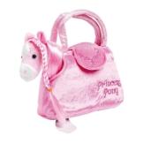 """Pony in der Tasche """"Paulina"""" aus kuschelweichem Plüsch, mit einer niedlichen Handtasche ideal zum Mitnehmen, für kleine Damen ab 3 Jahren - 1"""