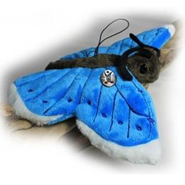 Schmetterling LILLI Falter blau 25 cm Plüschtier von kuscheltiere.biz - 1