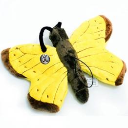 Schmetterling METTY Falter gelb 25 cm Plüschtier von kuscheltiere.biz - 1