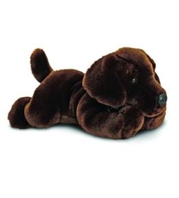 """Schokoladenbrauner Labrador Hund Plüschtier """"Harley"""" 35cm - 1"""