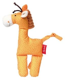 sigikid, Mädchen und Jungen, Kuschelfigur, Giraffe, Orange, 41668 - 1