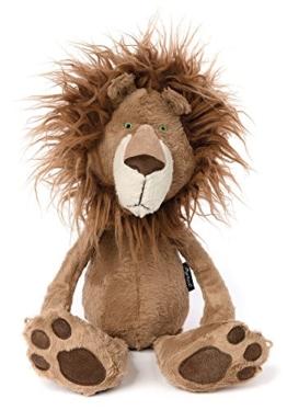 sigikid, Stofftier für Erwachsene und Kinder, Löwe, Brave Hair, BeastsTown, Braun, 38715 - 1