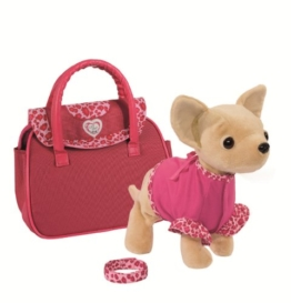 Simba 105897617 - Chi Chi Love Plüschhund Showstar mit Funktion 20 cm - 1