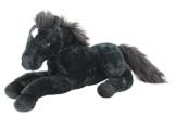 Sweety Toys 5185 XXL Plüsch Pferd Fohlen schwarz Fohlen kuschelweich Plüschpferd - 1