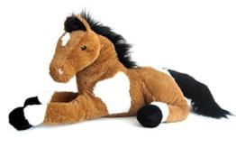 Sweety Toys 5840 Energie Pferd,braun,harmonisierend, mit positiver Energie energetisiert,Stofftier Plüschpferd Fohlen 70cm XXL Pferd Kuscheltier Wohlfühl Plüschtier braun super-süss,kuschelweich Spielzeug Sweety-Toys - 1