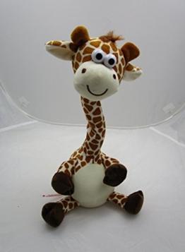 Tanzende Labertier Giraffe, Laber Tier, spricht alles nach ca 9 x 30 cm 76500 - 1