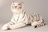 Tiger weiß XXL Plüschtier 1,70 m Kuscheltier Stofftier Raubkatze weiss - 1