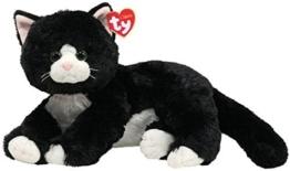 Ty 10037 - Shadow Katze schwarz - 33 cm - 1