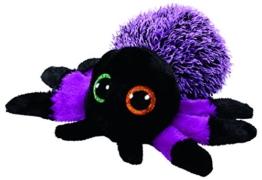 """TY 37248 """"Creeper - Spinne"""" Plüsch, 15 cm, schwarz/violett - 1"""